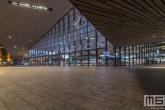 Te Koop | Het Centraal Station in Rotterdam in de avond