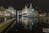 Te Koop | De brug over de Leie in Gent in de nacht