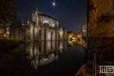 Te Koop | Kasteel Gravensteen in Gent in de nacht