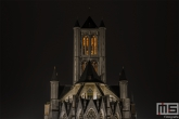 Te Koop | De Sint Niklaaskerk in Gent in de nacht