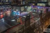 Het Schouwburgplein tijdens het IFFR in Rotterdam by Night