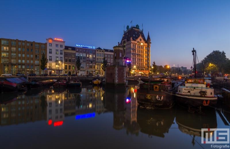 Te Koop | De Scheepkamershaven in Rotterdam met het Witte Huis