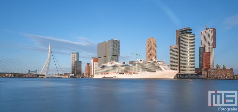 Te Koop | Het cruiseschip Regal Princess aan de Cruise Terminal in Rotterdam