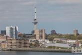 Het uitzicht op de Euromast in Rotterdam
