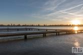 Te Koop | De zonsondergang bij de Kralingse Plas in Rotterdam