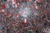 Te Koop | De huldiging van kampioen Feyenoord op de Coolsingel in Rotterdam