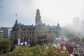 De huldiging van kampioen Feyenoord op de Coolsingel in Rotterdam