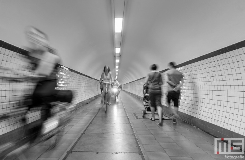 Te Koop | De fietstunnel Sint Annatunnel in Antwerpen