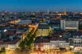 Te Koop | De skyline van Antwerpen by Night