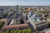 Te Koop | Het Stadhuis en het oude postkantoor in Rotterdam Centrum vanaf het WTC Rotterdam