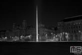 Het plein Kossuth Lajos naast het Hungarian Parliament gebouw in Budapest
