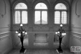 Het trappenhuis van Hotel Nemzeti in Budapest
