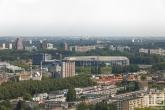 Te Koop | Een luchtfoto van het Feyenoord Stadion De Kuip in Rotterdam