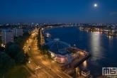 Te Koop | De Tropicana aan de Maasboulevard in Rotterdam by Night