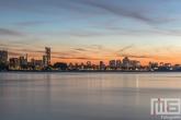 Te Koop | De zonsondergang in Rotterdam
