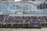 De bezoekers bij de Cruise Terminal in Rotterdam tijdens de Wereldhavendagen