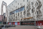 Monument Het Ding op de Coolsingel in Rotterdam tijdens de Open Monumentendag