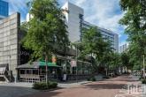 Het Hilton Hotel in Rotterdam tijdens de Open Monumentendag