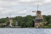 De Molenkomplex Kralingen in Rotterdam tijdens de Open Monumentendag