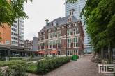 De tuin van het Schielandshuis in Rotterdam tijdens de Open Monumentendag
