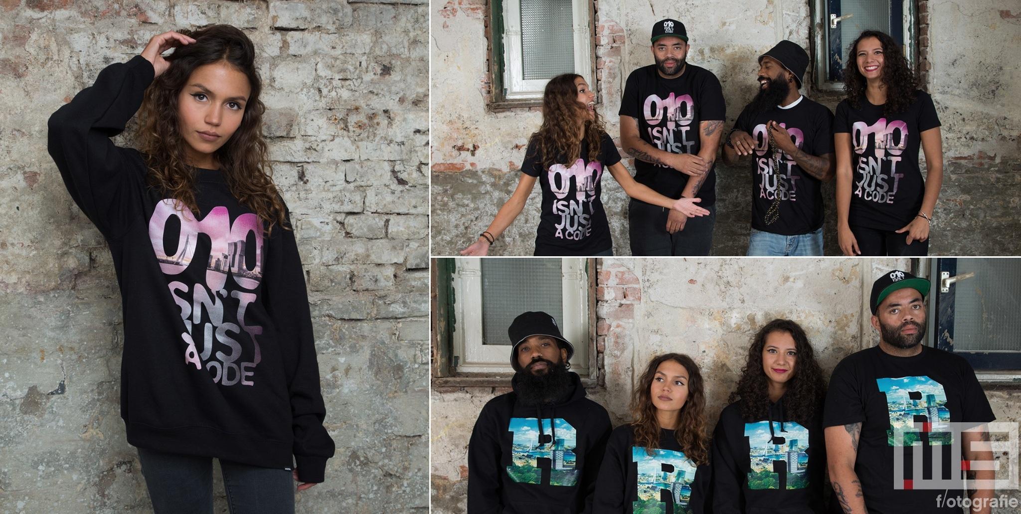 De 010 isn't Just a Code samenwerking van Nultien Kleding uit Rotterdam met MS Fotografie
