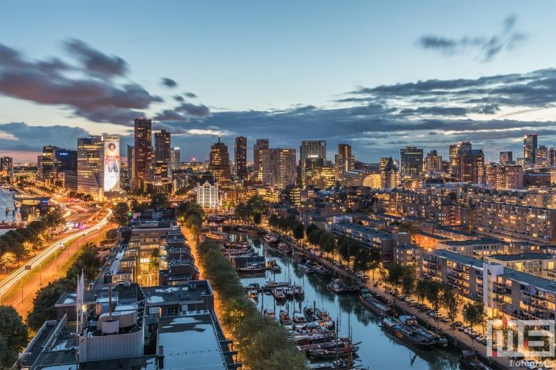 Te Koop | De gouden zonsondergang in Rotterdam