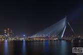 Te Koop | De Erasmusbrug in Rotterdam met de Grote Beer aan de hemel