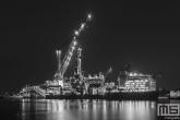 Te Koop | Het offshoreschip Borealis van Subsea7 in de Heysehaven in Rotterdam