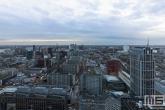 Te Koop | De binnenstad van Rotterdam tijdens de zonsondergang