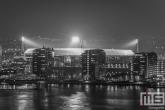 Te Koop | Het Feyenoord Stadion De Kuip in Rotterdam-Zuid tijdens een speelavond