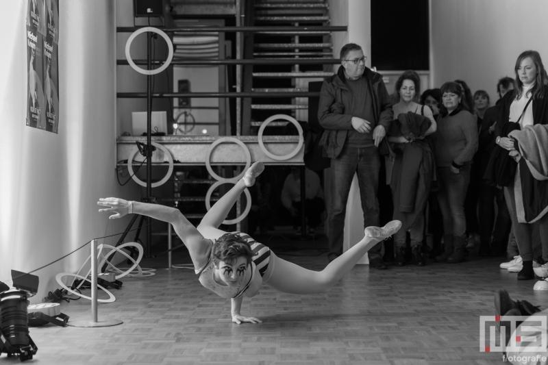 De optredens van Circus Rotterdam in de Kunsthal tijdens Museumnacht010 in Rotterdam