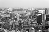 De skyline van Rotterdam met alle hotspots zoals de Markthal Rotterdam, WTC Rotterdam, Stadhuis Rotterdam en het Oude Postkantoor