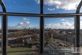Het uitzicht vanuit de Tearoom van de Van Nelle Fabriek in Rotterdam