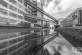 Te Koop | Werelderfgoed De Van Nelle Fabriek in Rotterdam in zwart/wit