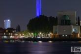 Te Koop | De Euromast in Rotterdam in rood, wit en blauw