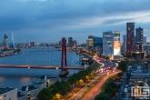 De Willemsbrug en de Willemswerf in Rotterdam