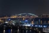 De Van Brienenoordbrug in Rotterdam by Night