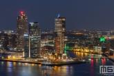 Te Koop | Hotel New York met aan de kade het Zeilschip De Eendracht in Rotterdam