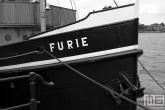 Het Stoomschip Furie op Dordt in Stoom in Dordrecht