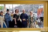 Het levende schilderij in Dordt in Stoom in Dordrecht