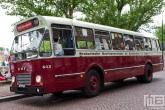 Een DAF 603 van Stichting Veteraan Autobussen op Dordt in Stoom in Dordrecht