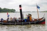 Het Stoomschip Jan de Sterker op Dordt in Stoom in Dordrecht