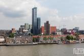 Te Koop | De Maastoren en het Noordereiland in Rotterdam tijdens de Rotterdamse Dakendagen
