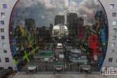 Te Koop | Het uitzicht door de Markthal Rotterdam tijdens de Rotterdamse Dakendagen
