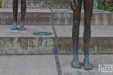 De Pomnik Obetem Komunismu beelden in Prague
