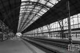 Het station Praha Hlavni Nadrazi in Prague