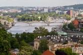 Het eiland Stvanice in Prague