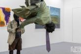 Onmogelijke beeldende kunst tijdens Art Rotterdam in de Van Nelle Fabriek in Rotterdam