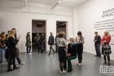 Een optreden in het Witte de With Center for Contemporary Art in Rotterdam tijdens Museumnacht010