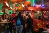 De Blusbus tijdens Museumnacht010 in het Maritiem Museum Rotterdam